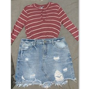 Whole outfit from Charlotte Russe